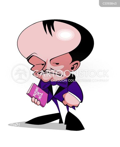 french literature cartoon