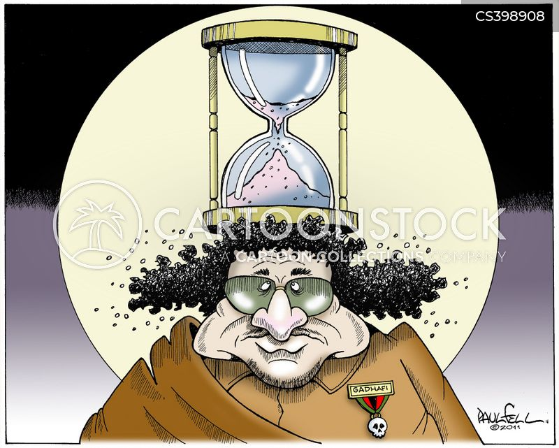 time running out cartoon