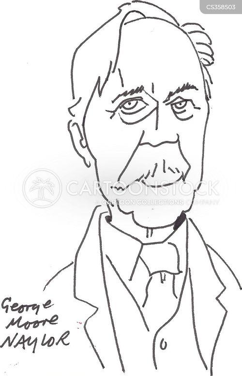 irish literature cartoon