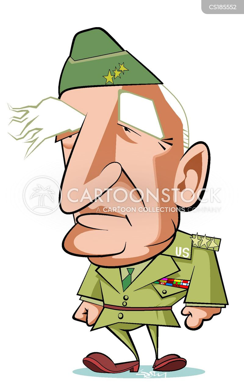 military history cartoon