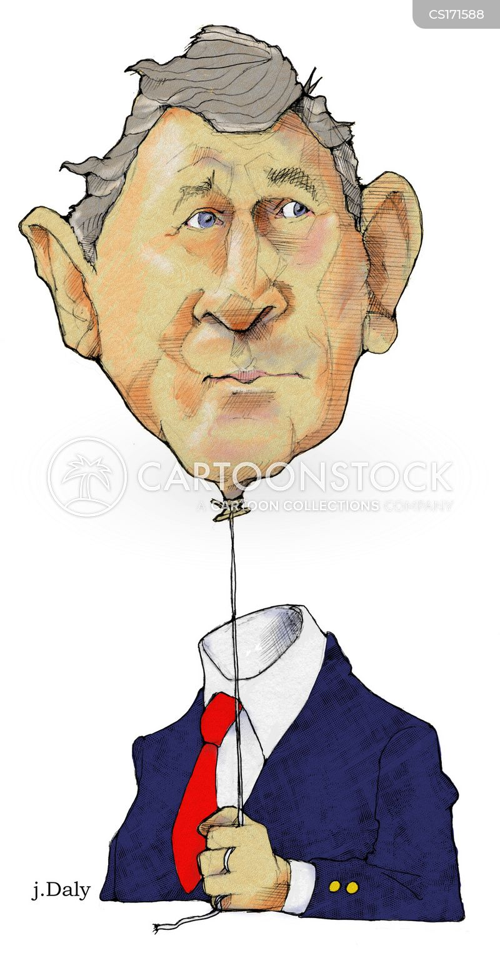 george w bush cartoon