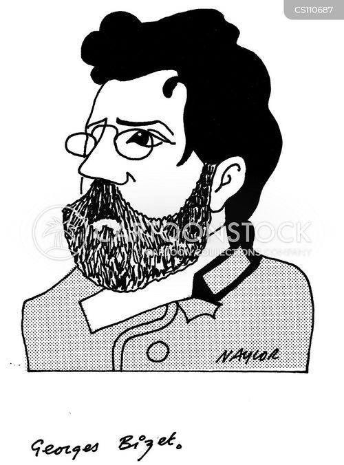 georges bizet cartoon