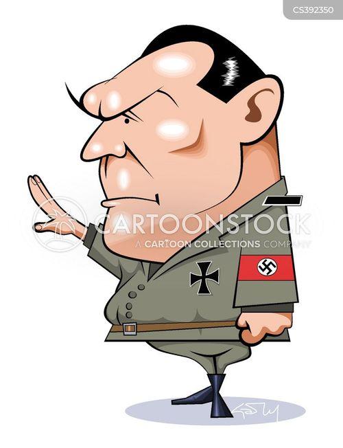 gestapo cartoon