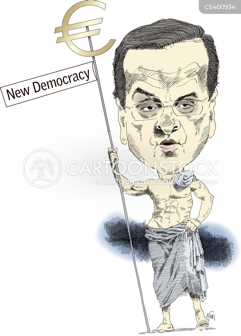antonis samaras cartoon