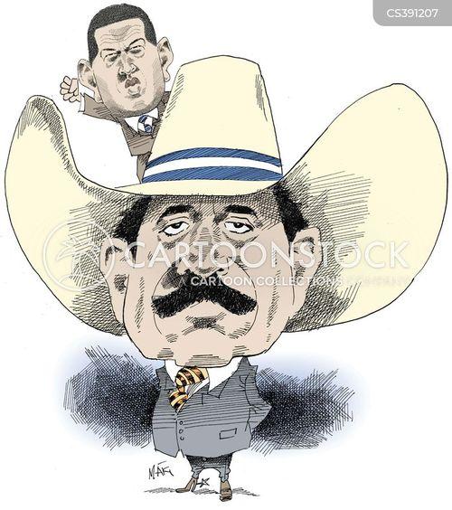 Image result for Manuel Zelaya CARTOON