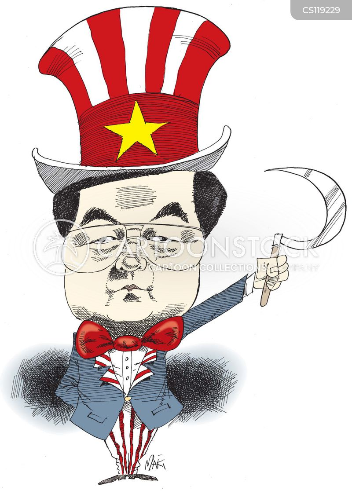 hu jintao cartoon