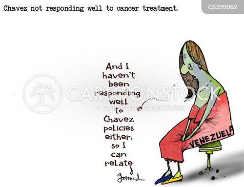 cancer treatment cartoon