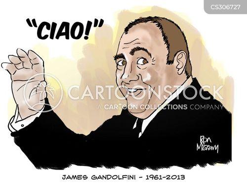 mafia bosses cartoon