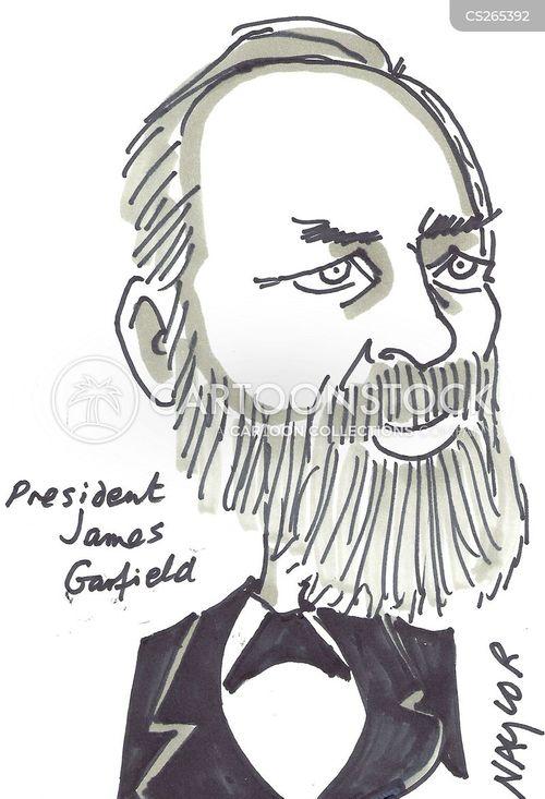 james garfield cartoon