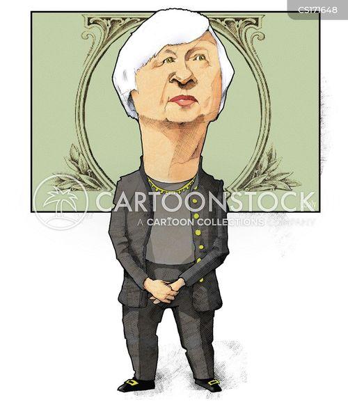 federal reserve cartoon