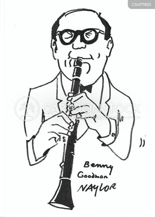 musical icons cartoon