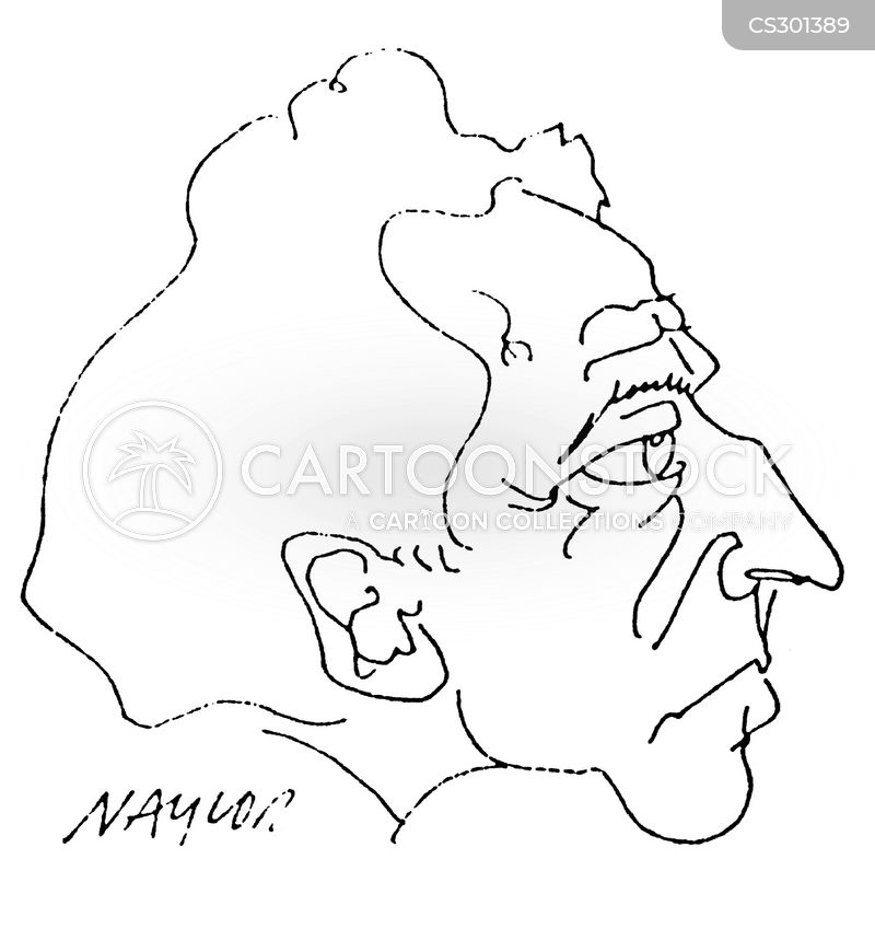jean cocteau cartoon