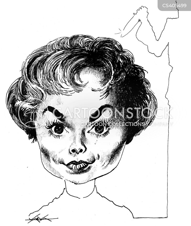 janet leigh cartoon