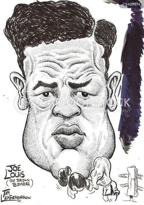 professional boxer cartoon