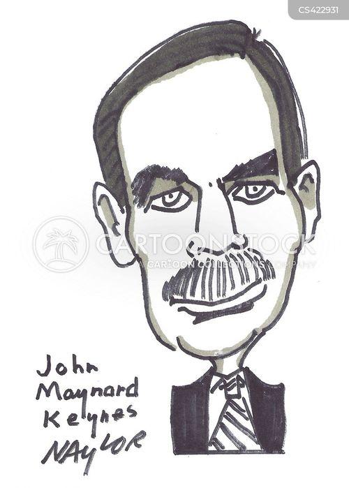 John Maynard Keynes Clip Art