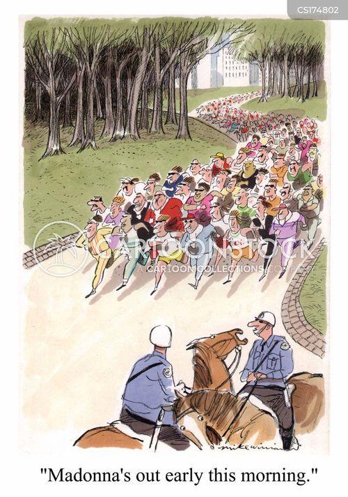 central park cartoon