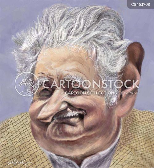former president cartoon