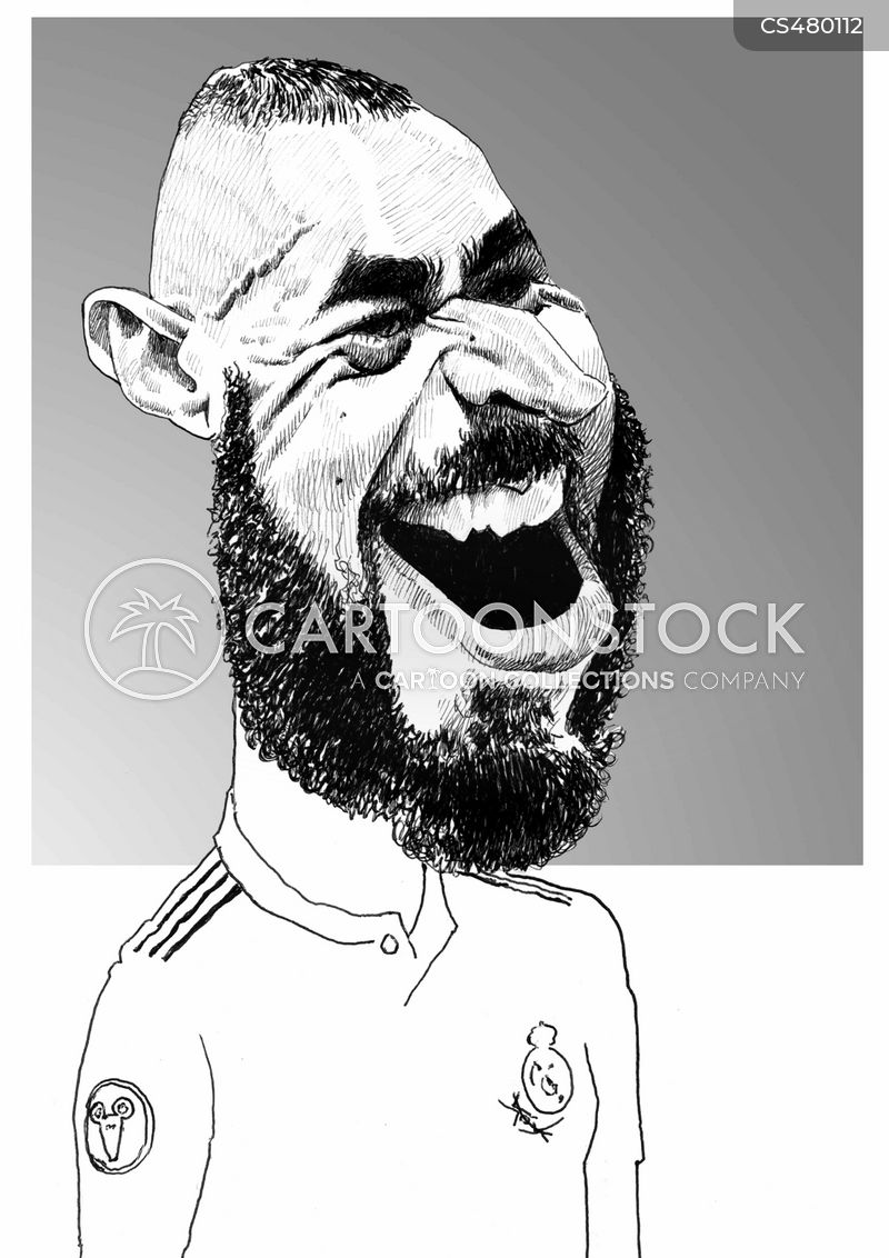 real madrid cartoon
