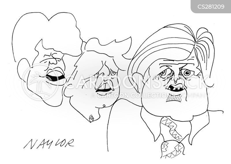 kennedy family cartoon