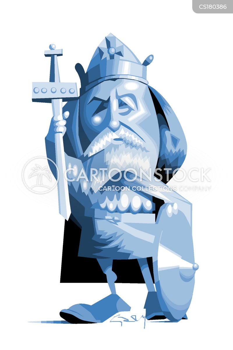 king alfred cartoon