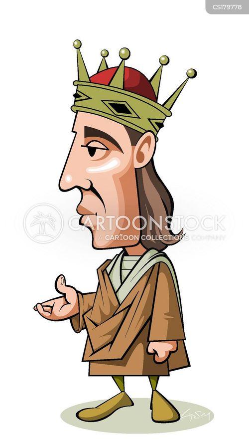 king of england cartoon