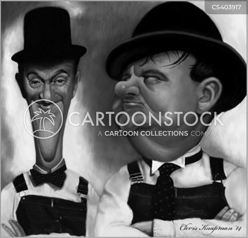 laurel and hardy cartoon
