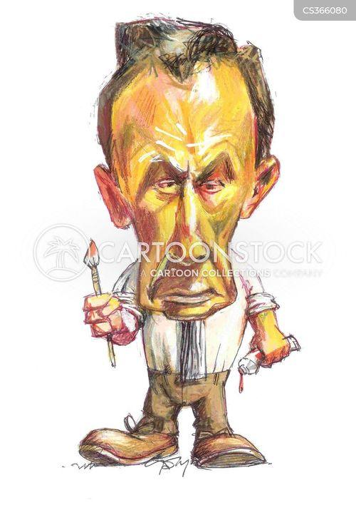 british art cartoon