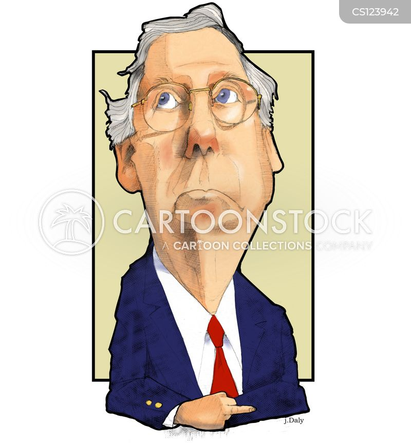 mitch mcconnell cartoon