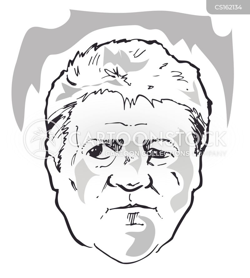 steve bruce cartoon
