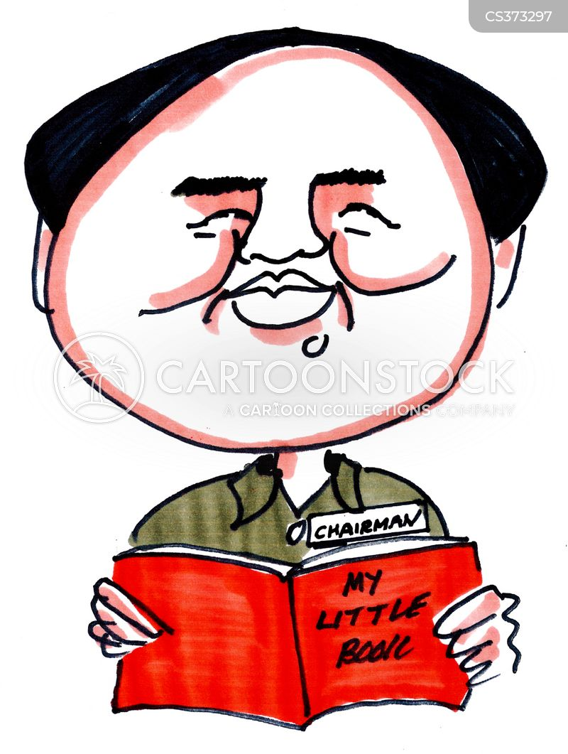 mao tse-tung cartoon