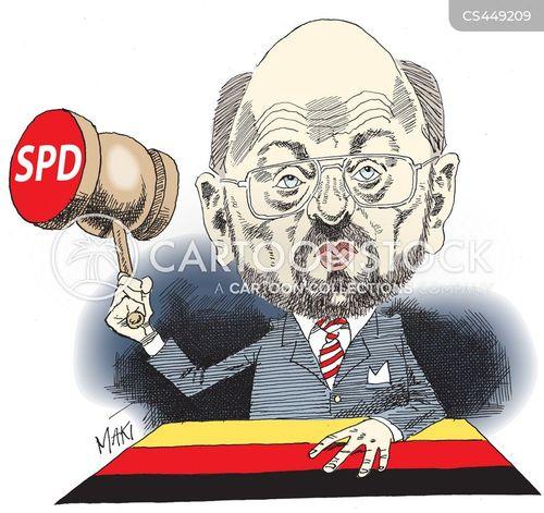 martin schulz cartoon