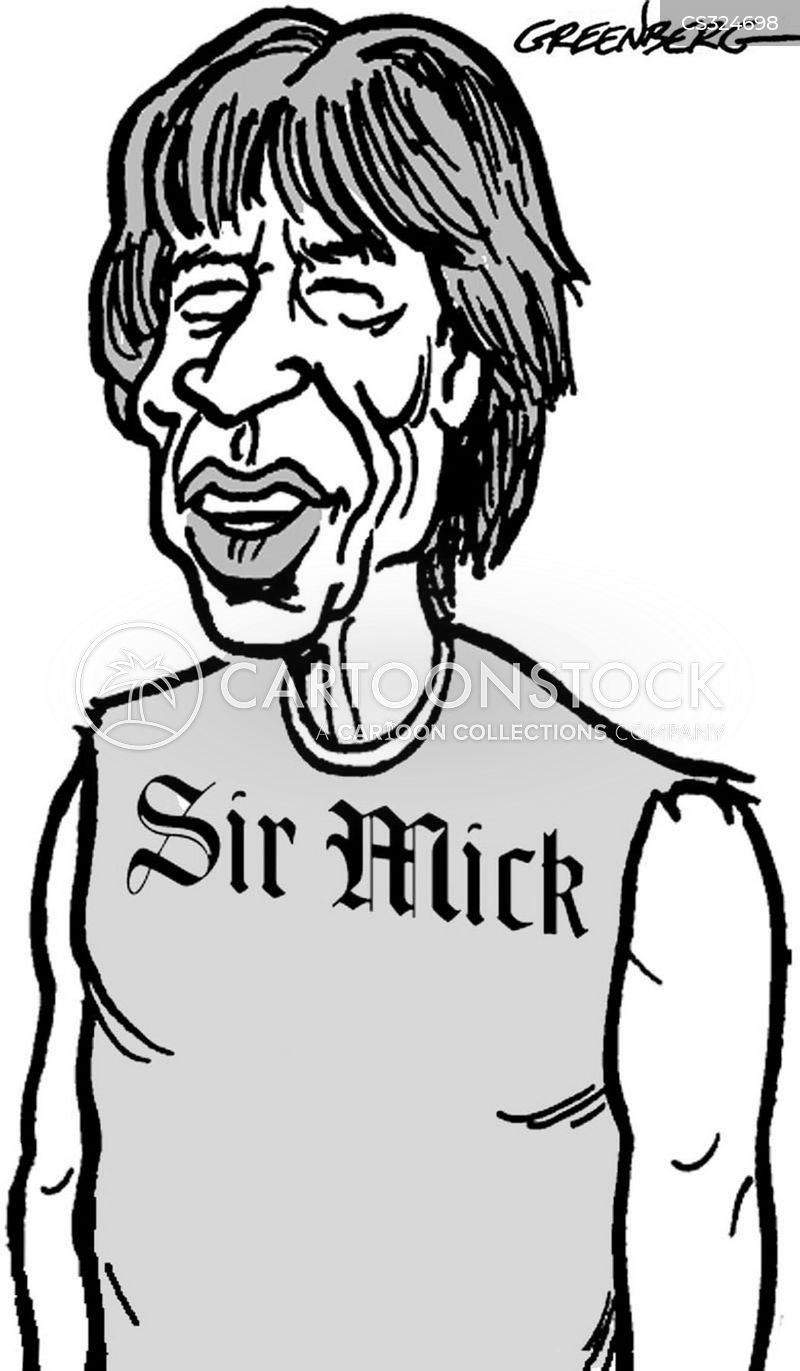 rock icon cartoon