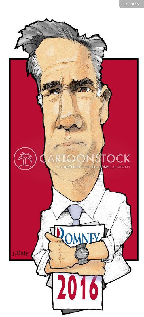 mitt romney cartoon