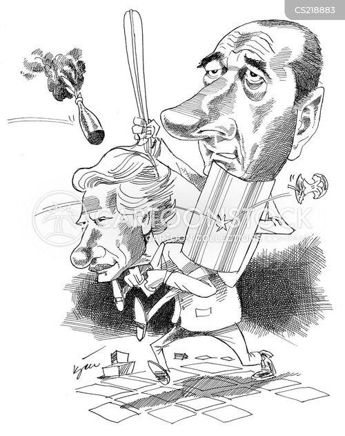 racial tension cartoon