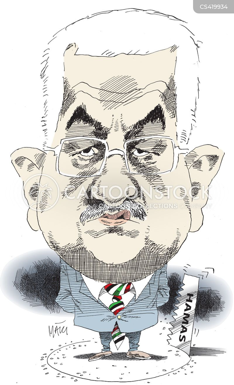 mahmoud abbas cartoon