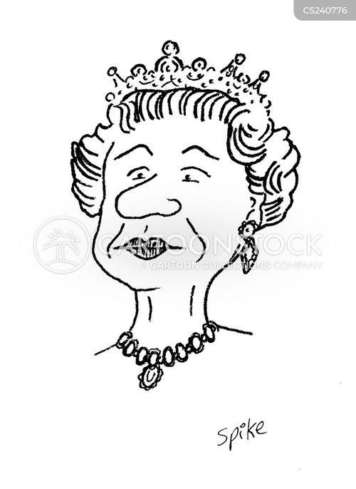 queen elizabeth cartoon clipart - photo #39