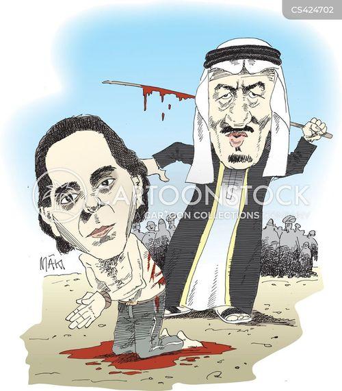 saudi arabia cartoon