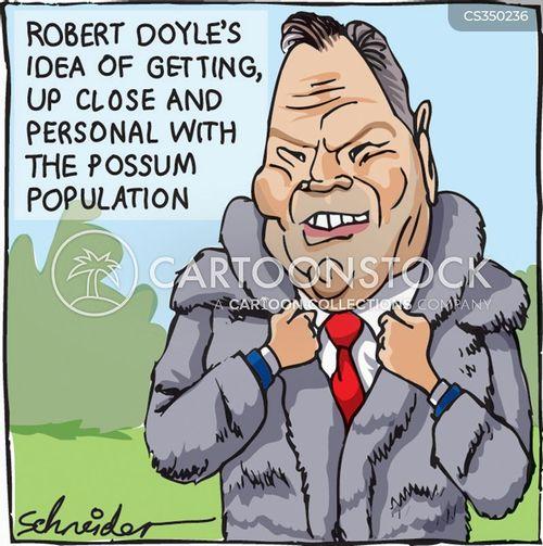 possums cartoon