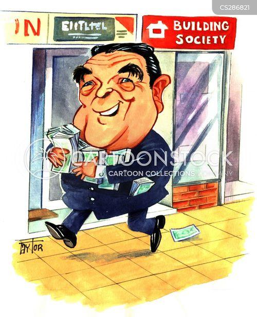 press baron cartoon