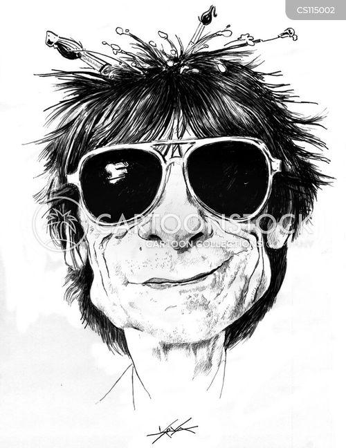 rock legends cartoon
