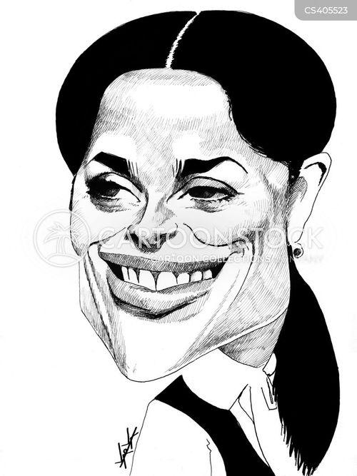 Salma Hayek Cartoons And Comics Funny Pictures From Cartoonstock