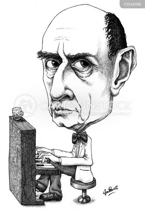 famous composer cartoon