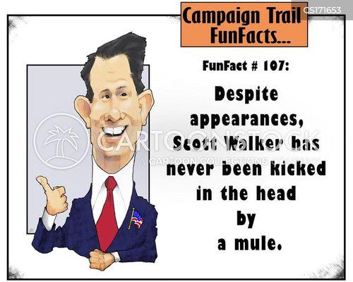 campaign trail cartoon