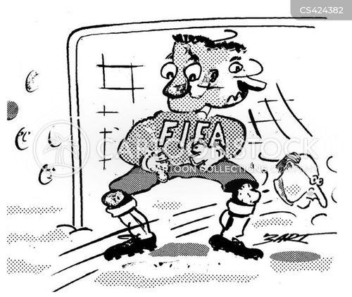 sport scandal cartoon