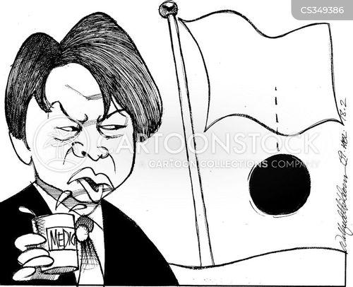 taking medicines cartoon