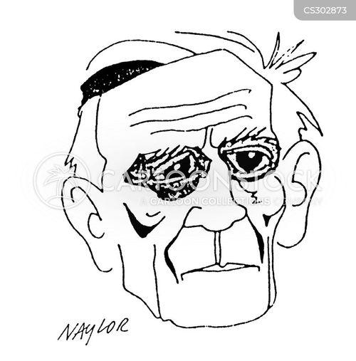 war poet cartoon