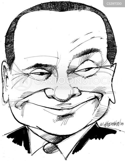 silvio cartoon