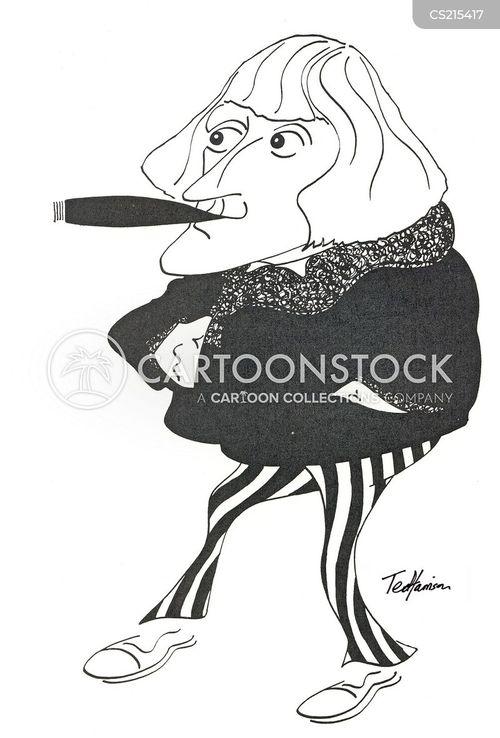 media personalities cartoon