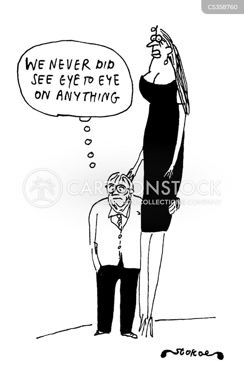 see eye to eye cartoon