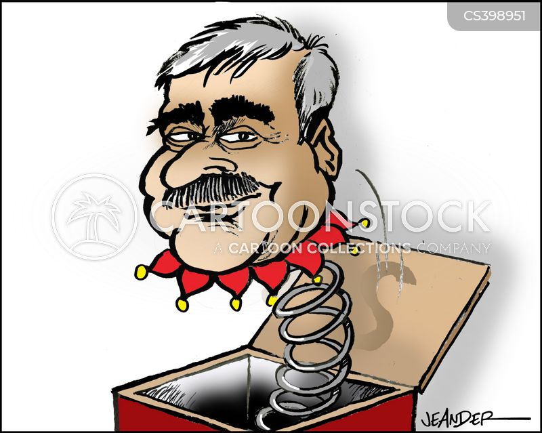 opposition leader cartoon